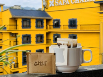 Cách sử dùng cà phê phin giấy tiện dụng  - DRIP COFFEE