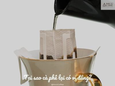 Tại sao cà phê có vị đắng?