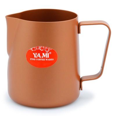 Ca đánh sữa Yami 300ml (màu đồng )