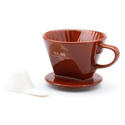 Phin sứ lọc cà phê nâu Yami