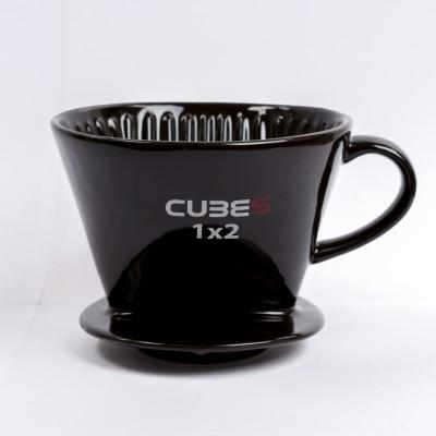 Ly sứ lọc cà phê  Cubes (đen)