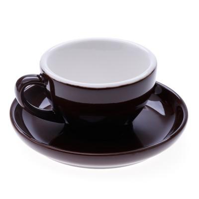 ly sứ cappuccino nâu