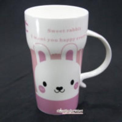 Ly Sứ Sweet Rabbit Màu Hồng
