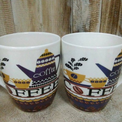 Bộ 2 ly sứ coffee