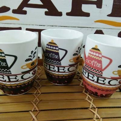 Ly sứ hình hạt coffee