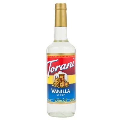 Syrup French Vanilla 750ml - Torani ( Vani )