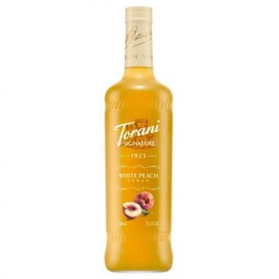 Syrup white Peach 750ml - Torani ( đào trắng )