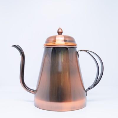 Ấm pha cà phê màu nâu đồng