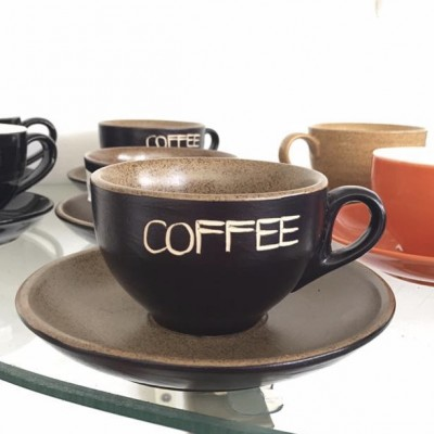Ly gốm sứ coffee