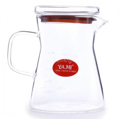 Bình thủy tinh đựng cà phê Yami 450ml