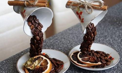 Cách làm thác nước từ cà phê