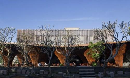 Kontum Indochine quán cà phê VN được đề cử giải tòa nhà của năm