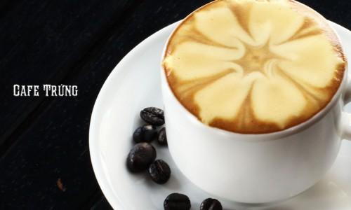 Cách pha cà phê trứng siêu ngon