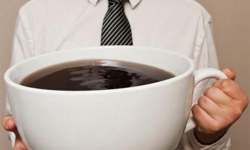 Gien uống cà phê. Bạn đã từng nghe?