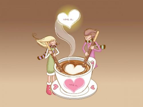 Cà phê đen và cà phê sữa
