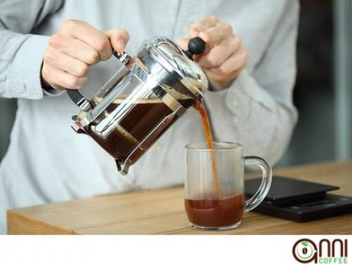 Cách pha chế cà phê ngon bằng French Press