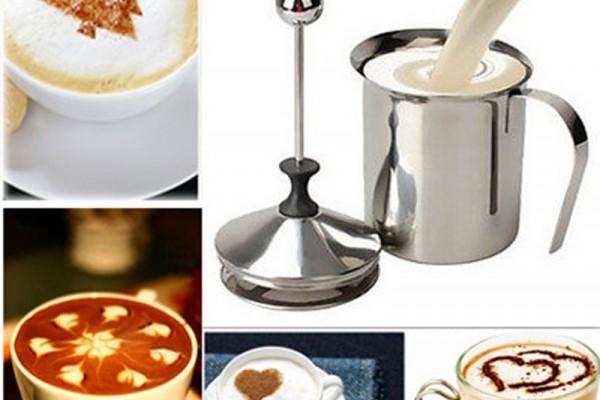Cách làm foam sữa tuyệt vời với ca đánh sữa thần thánh