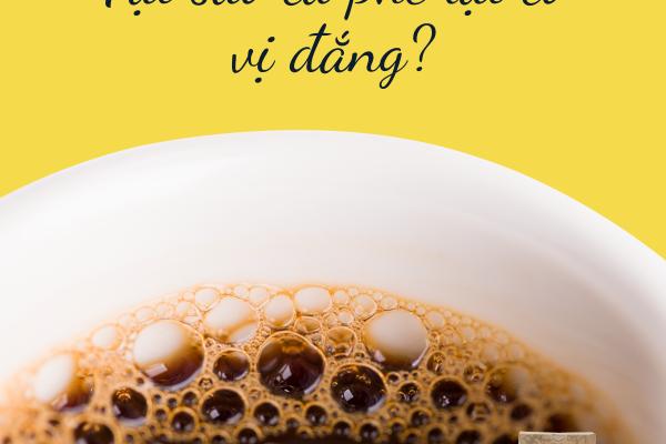 Tại sao Cà phê lại có vị đắng ?