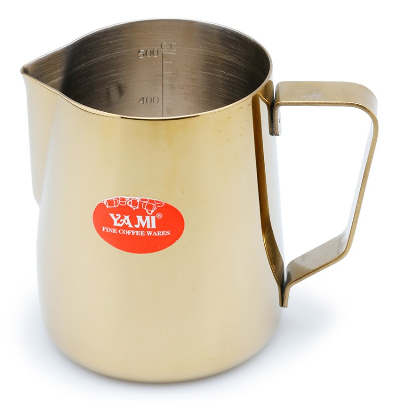 Ca đánh sữa Yami 600ml (Vàng)
