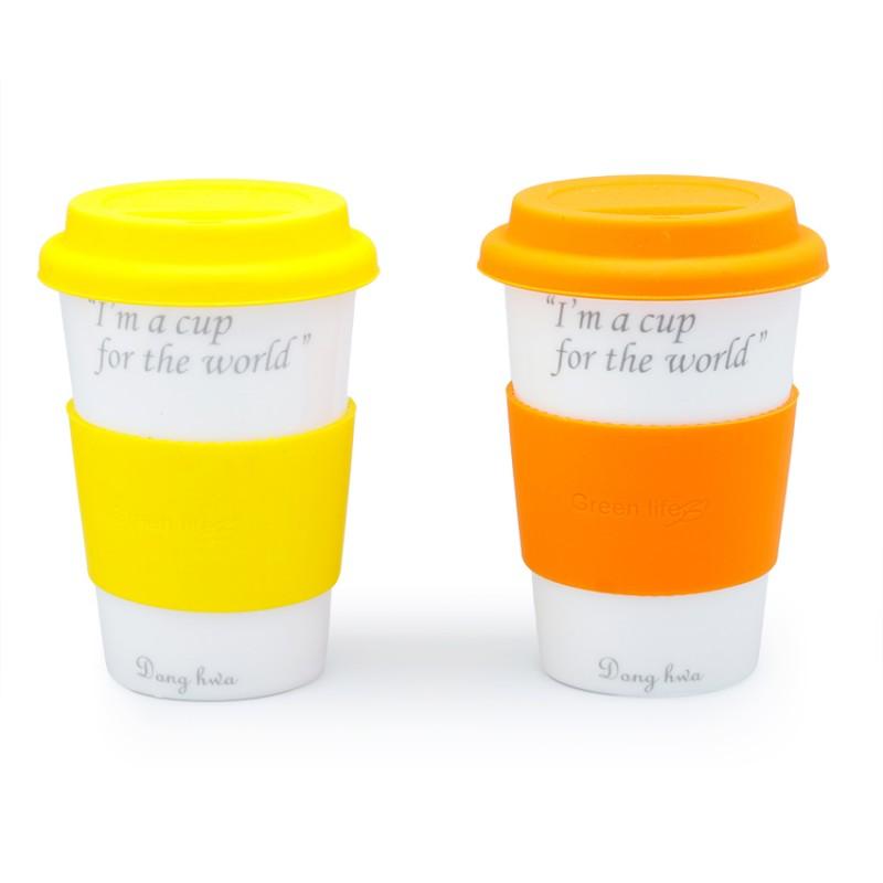 Bộ 2 ly tách có miếng lót cách nhiệt AnniCoffee