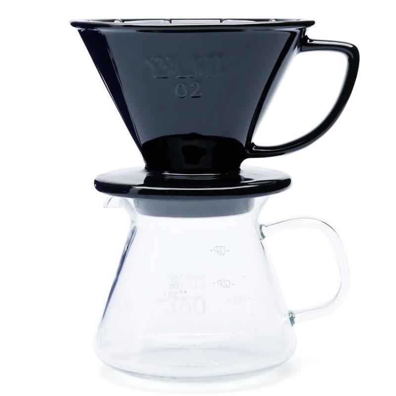 Bộ lọc cà phê và bình đựng AnniCoffee (đen)