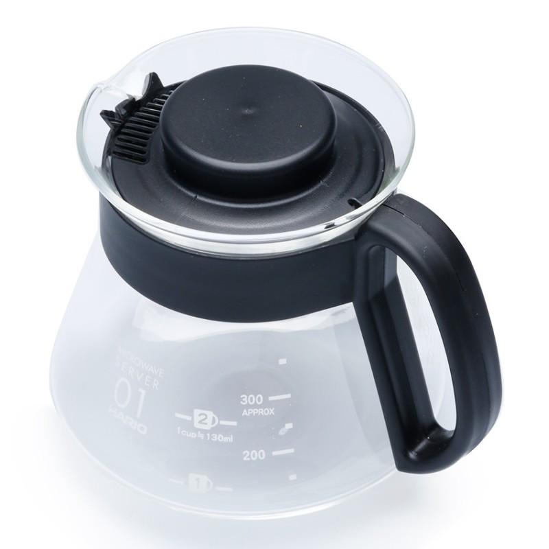 Bình phục vụ cà phê, trà Hario -đen