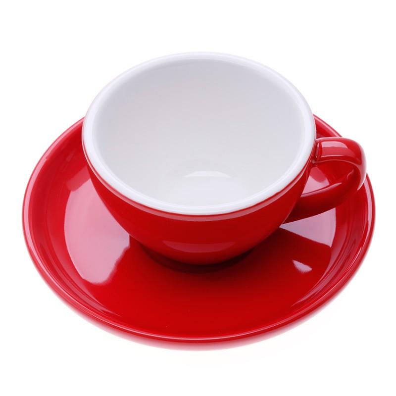 ly sứ cappuccino đỏ 200cc