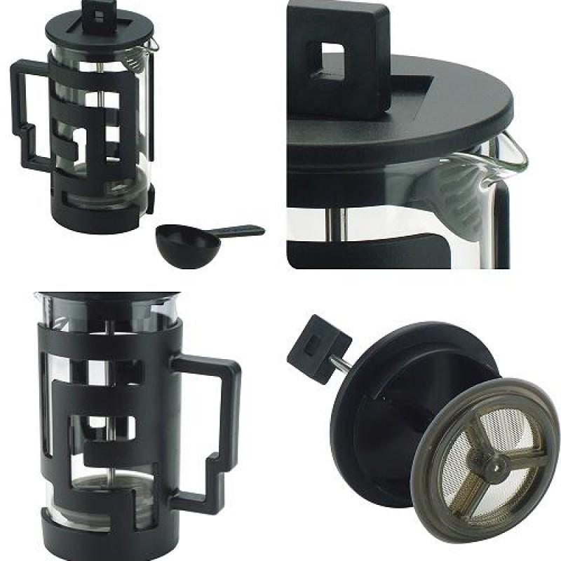 Bình ép cà phê và trà Cafe de Tiamo 300ml (đen)