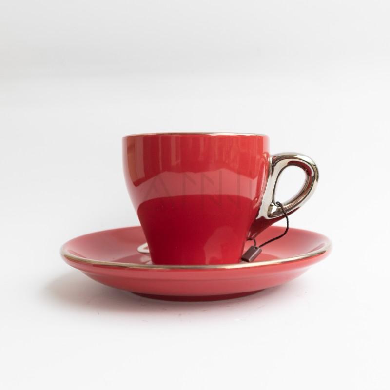 ly sứ capuccino đỏ 180cc
