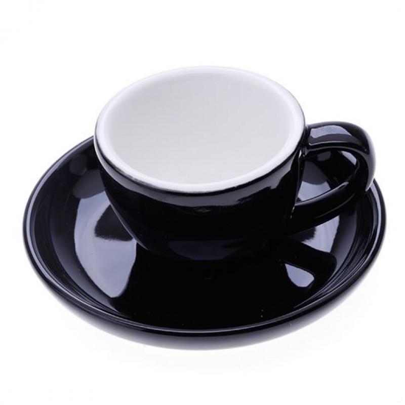 Ly sứ espresso 75ml (Đen)
