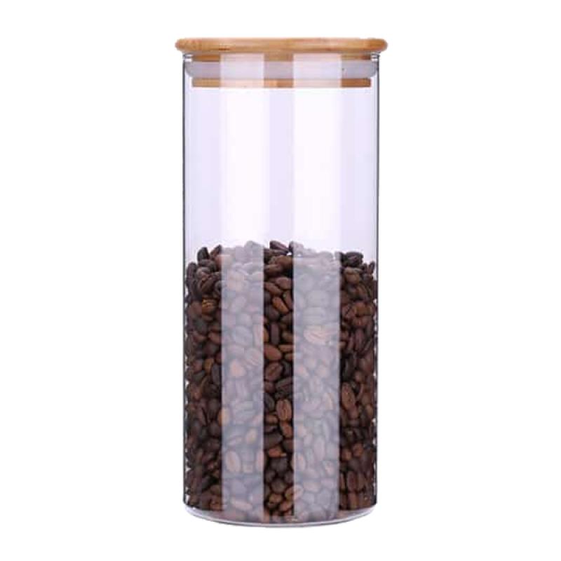 Hộp đựng cà phê thủy tinh Yami 1350cc