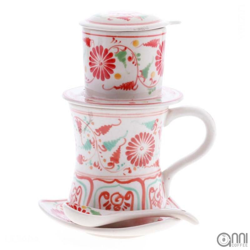 Phin gốm cà phê Bách Thảo - một sản phẩm thủ công mỹ nghệ Bát Tràng Việt Nam