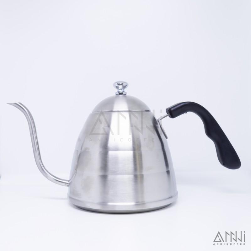 ấm pha cà phê inox 1 lít nắp dẹt