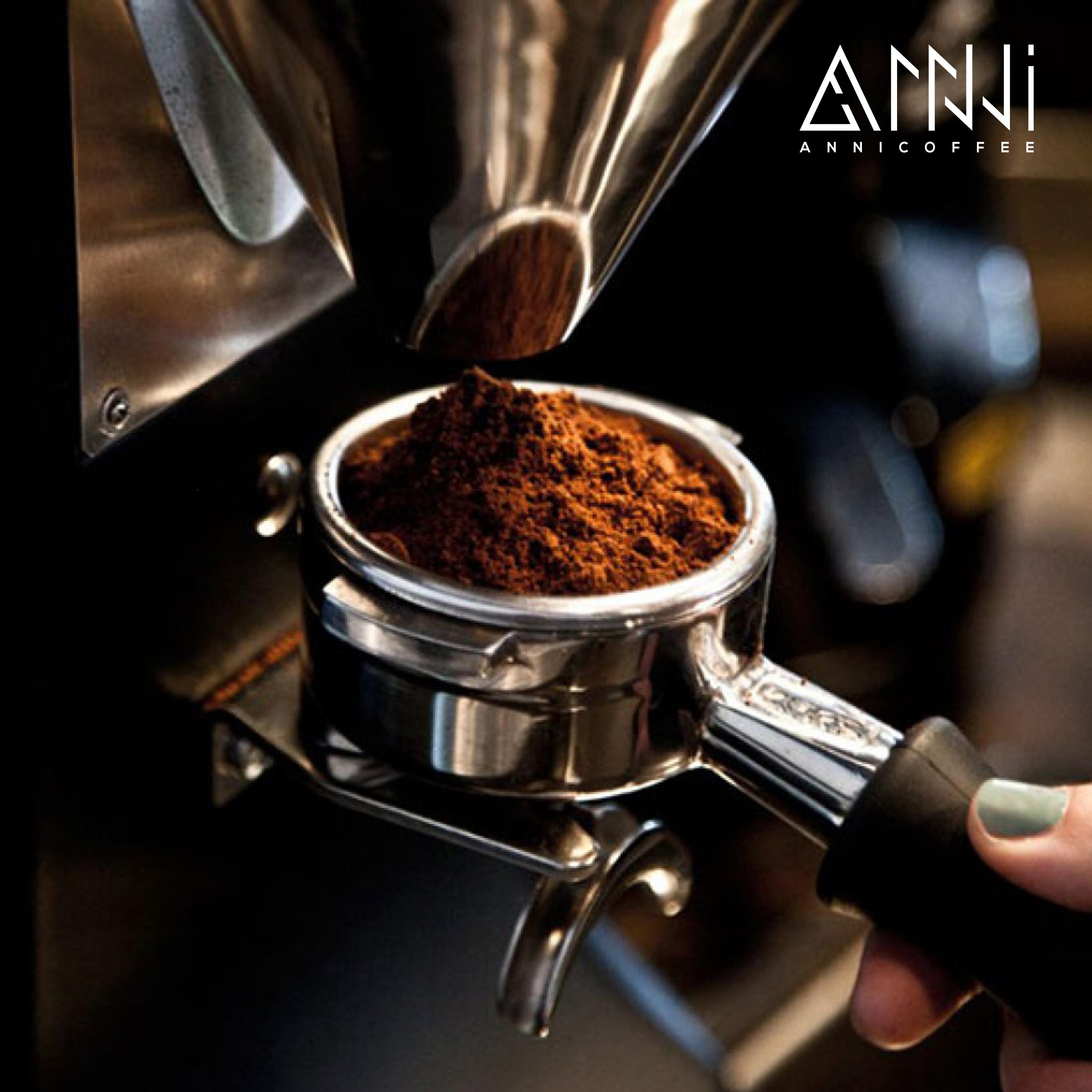Cà phê mộc pha máy