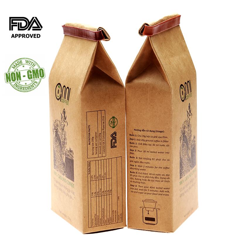 Cà phê Truyền Thống Anni coffee 200g - Giá bán : 89,000 đ