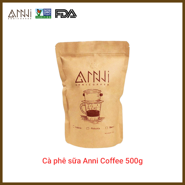 Cà phê Arbica - Robusta ANNI COFFEE