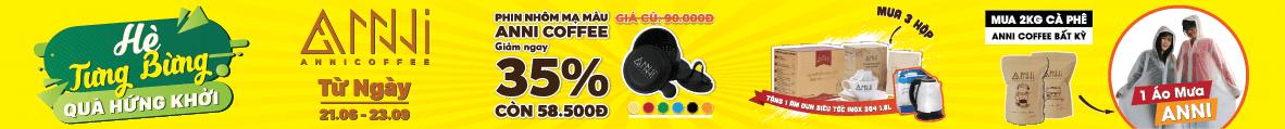 Hè tưng bừng - quà hứng khởi cùng Anni Coffee