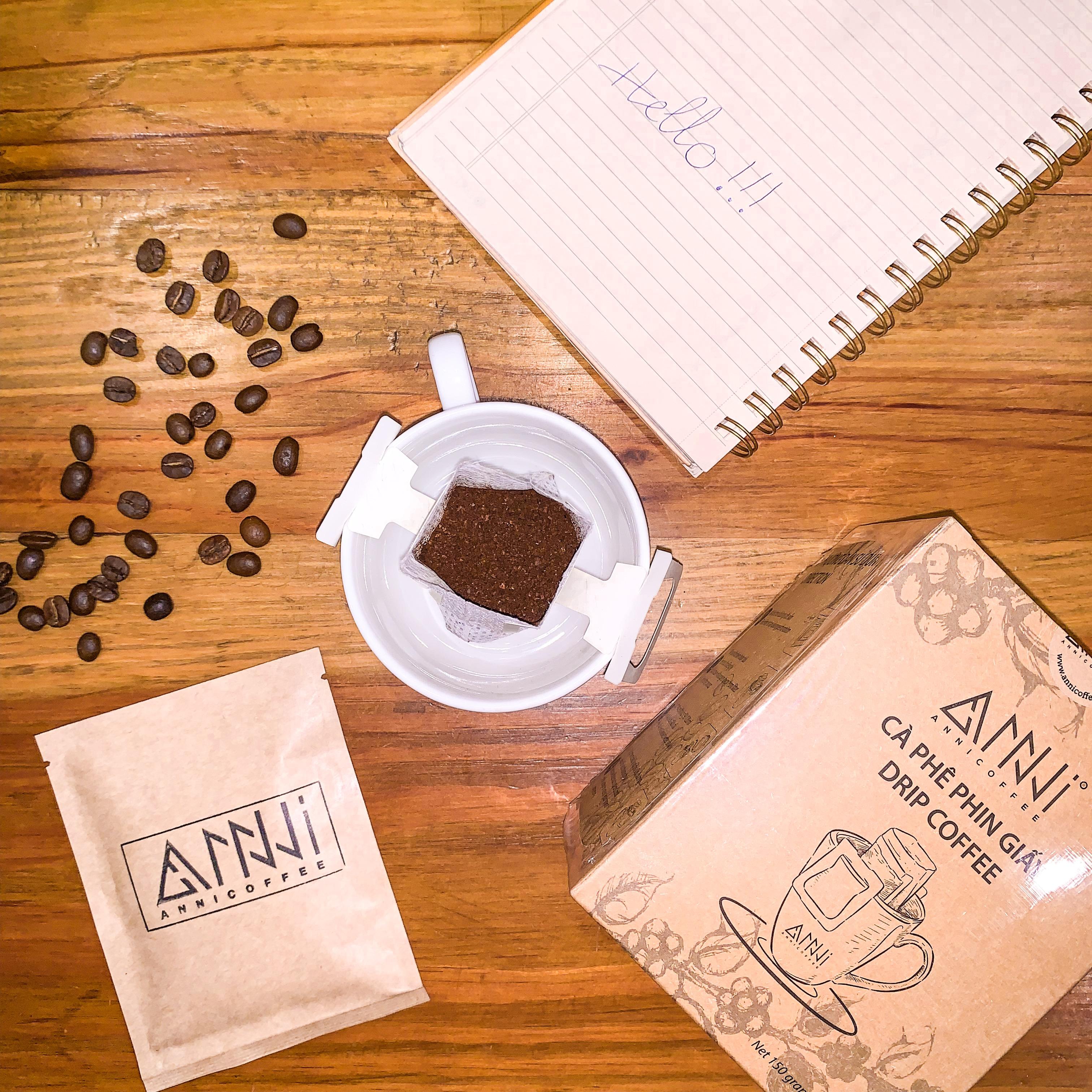 Cà phê phin giấy Anni Coffee