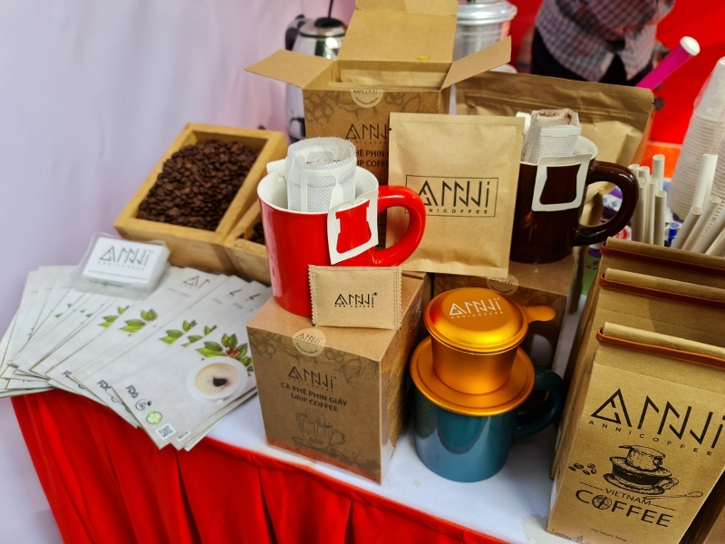 Giới thiệu sản phẩm cà phê anni