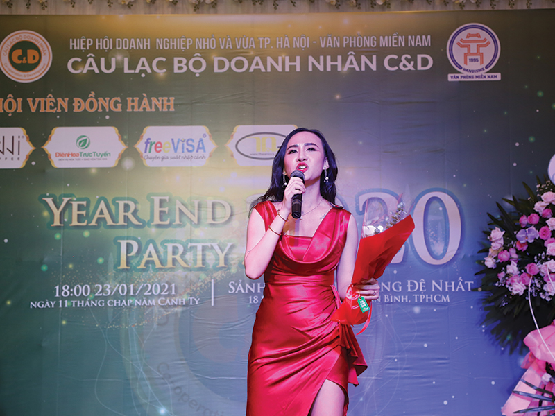 Year end party 2021 Anni Coffee