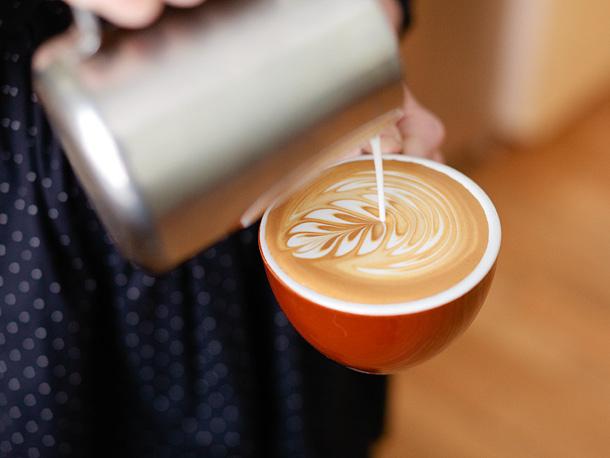 cách làm cappuccino, latte art bằng bình french press