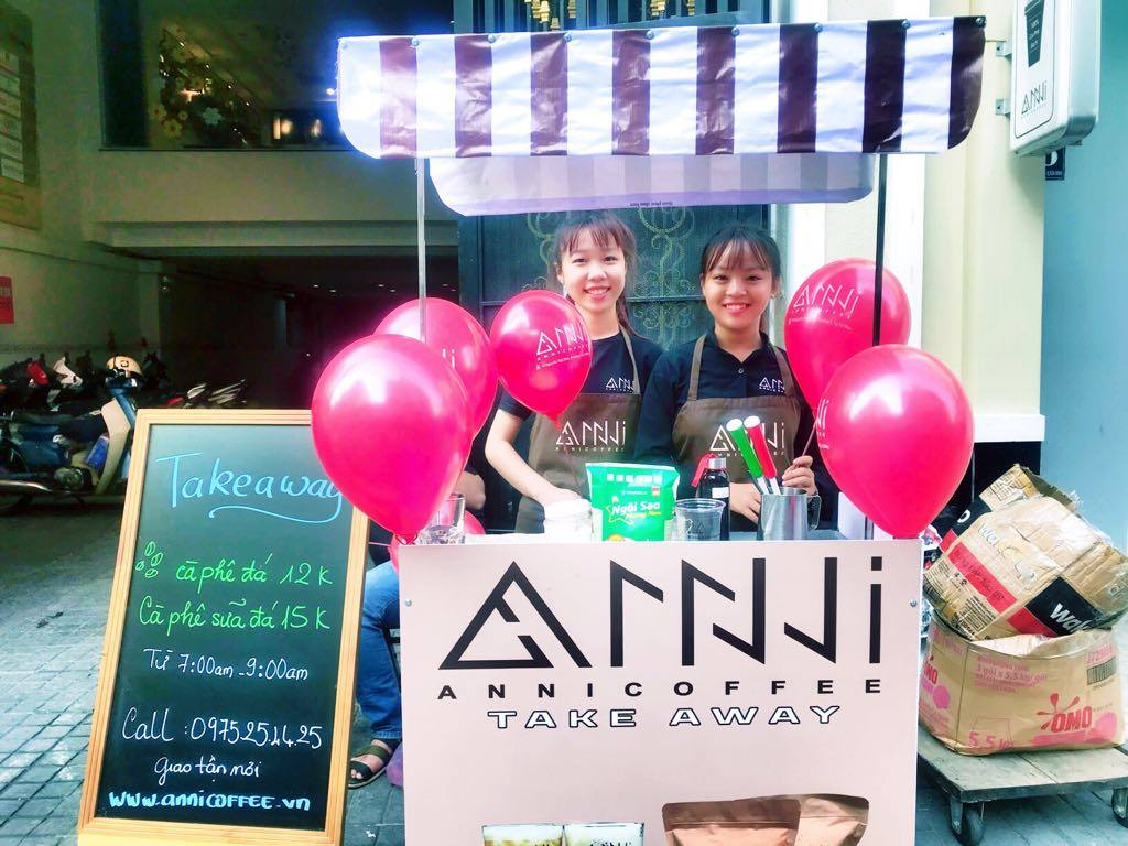 Anni coffee takeaway Đồng Nai