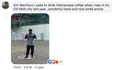 Đánh giá khách hàng được uống cà phê Việt Nam