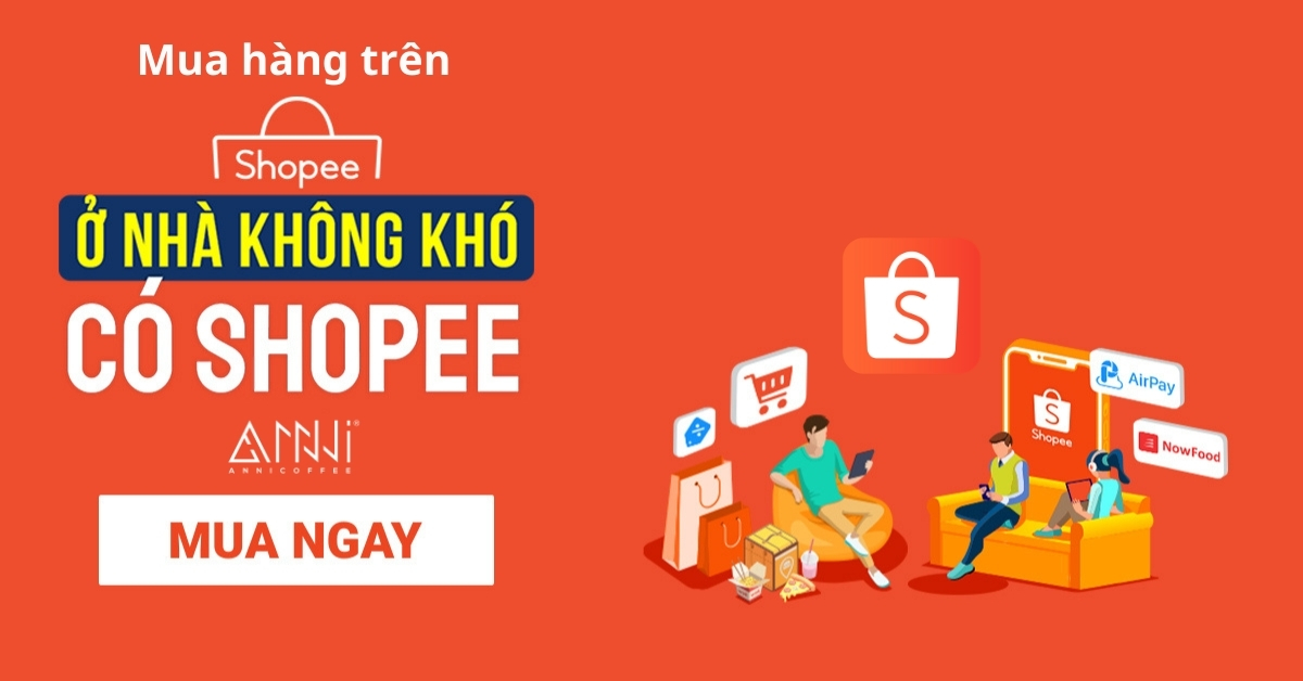 Trang Shopee chính thức bán sản phẩm anni coffee