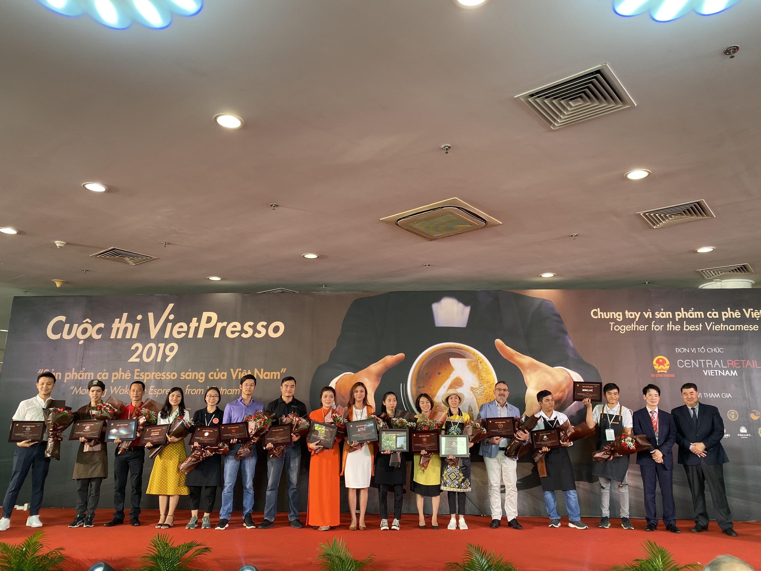 ANNI COFFEE tham gia cuộc thi VietPresso 2019 cùng 15 đơn vị cung cấp uy tin